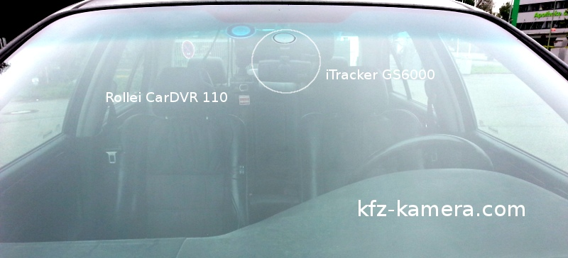 itracker gs6000 kfz autokamera test vergleich. Black Bedroom Furniture Sets. Home Design Ideas