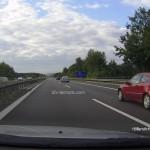 Tageslicht Autobahn